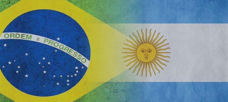 Índice de Precios al Consumidor de Argentina y el de Brasil