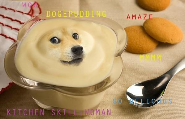 doge pudding
