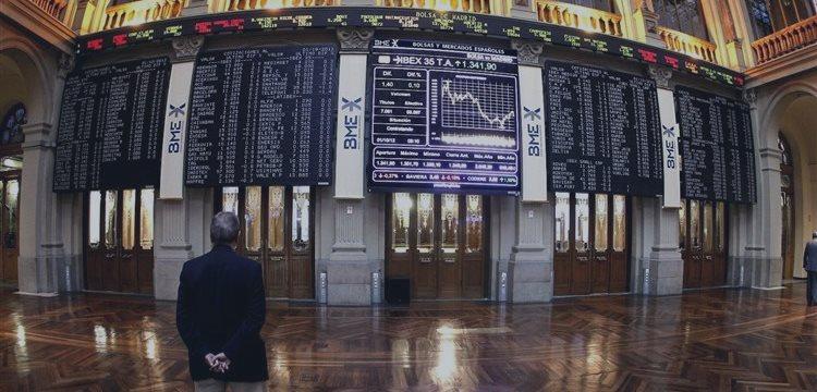 La bolsa de Madrid sube el lunes impulsada por BCE mientras FCC y Abengoa bajan