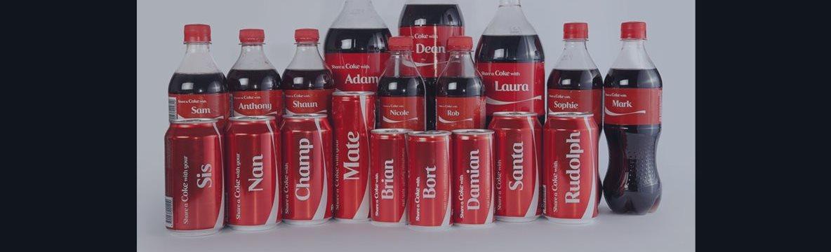 ¿Ya encontraste la Coca-Cola con tu nombre?