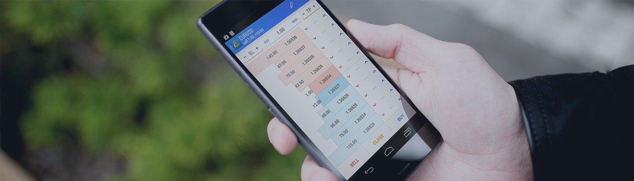 MetaTrader 5 totalmente actualizado para  Android: se ha realizado un rediseño, se ha añadido un fondo de mercado, un gráfico de ticks y noticias fina