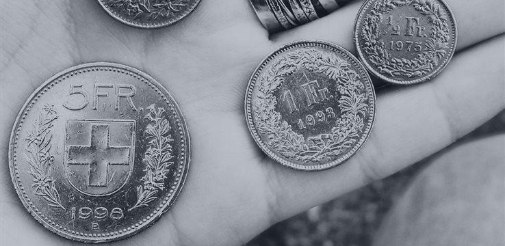 Los pares GBP/CHF y USD/CHF suben durante la jornada europea