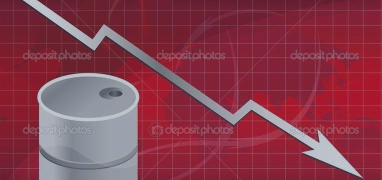 国际油价一路下滑 暴跌冲击每桶55美元关口