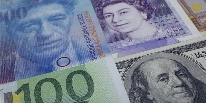 El USD/CHF aumentó, el EUR/USD descendió durante la sesión europea