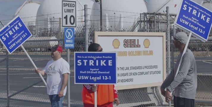 美国石油工人掀起1980年来最大规模罢工