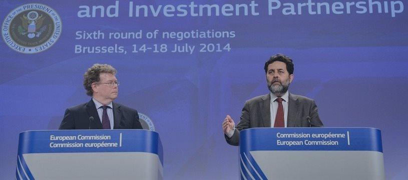 La UE y EEUU inician hoy otra ronda de negociación de su acuerdo comercial