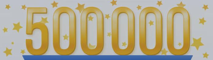 ¡500 000 miembros registrados en MQL5.community!