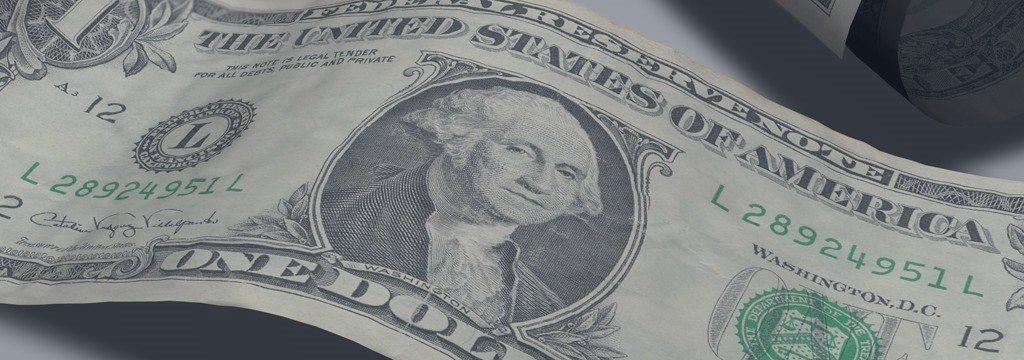 Доллар подскочил на данных из США, но опять падает