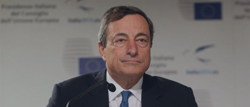 Draghi discutirá sobre la situación económica y monetaria con los eurodiputados