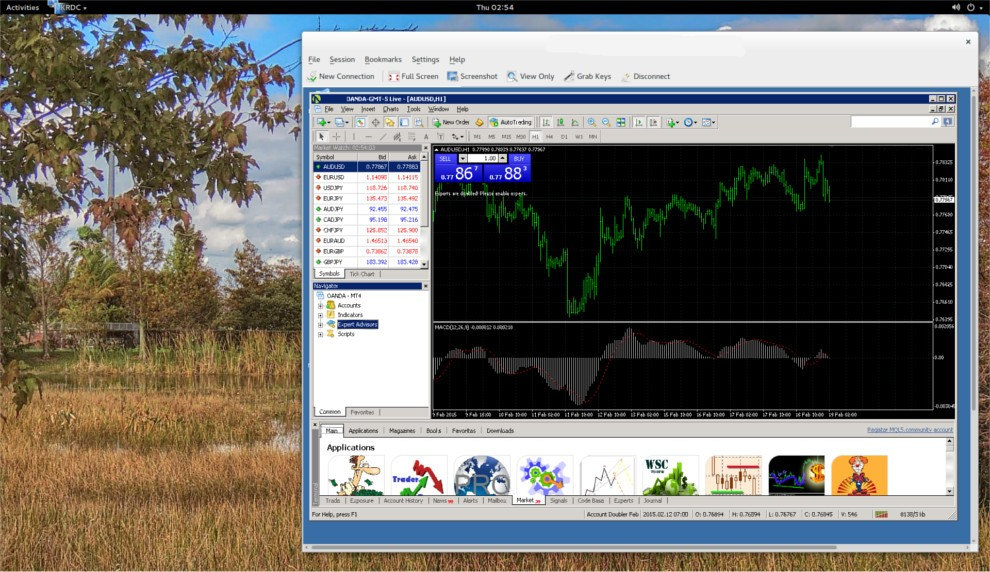 Forex trading software for linux public investment database software