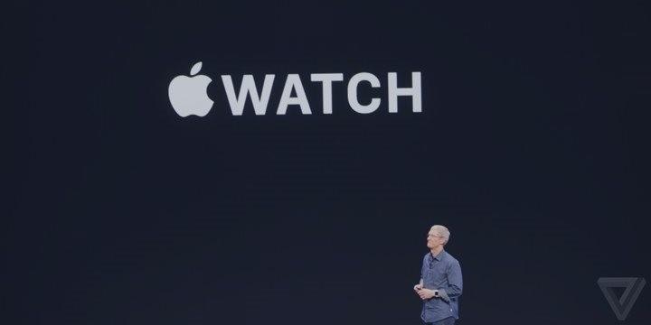 苹果正式发布Apple Watch 将同步在华首发