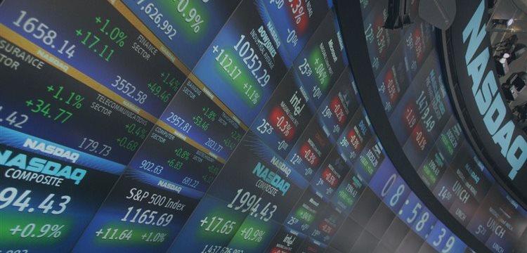 US stocks open lower, dollar edges higher