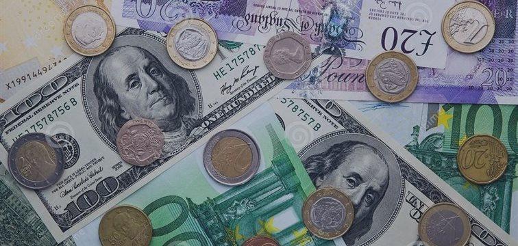 美元兑欧元汇率过去两周大跌3.7%
