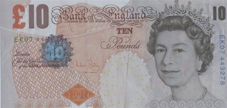 La libra, a la baja frente al robusto dólar