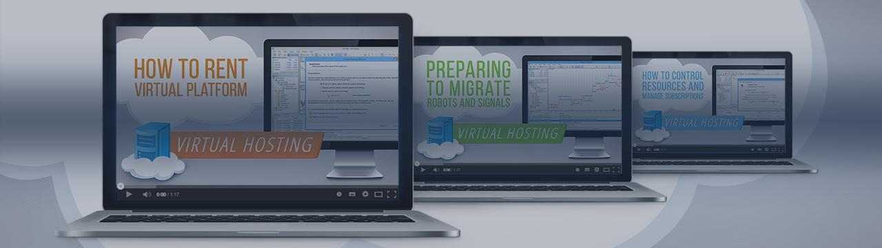 Han sido lanzados varios vídeos sobre hosting virtual