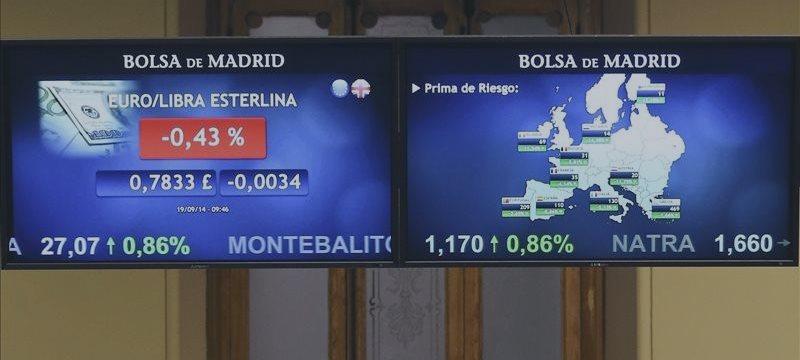 La prima de riesgo española abre al alza, en 119 puntos básicos