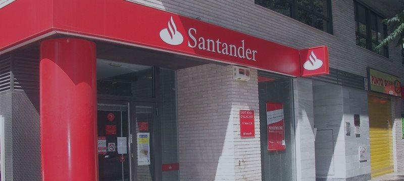 Banco Santander supera los 100.000 millones de euros de valor en Bolsa