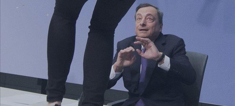 Lo más importante de la conferencia de prensa del BCE fue el salto sobre Mario Draghi
