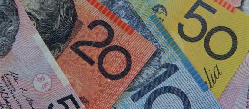 Aussie jumps to 3-week highs boosted by positive data