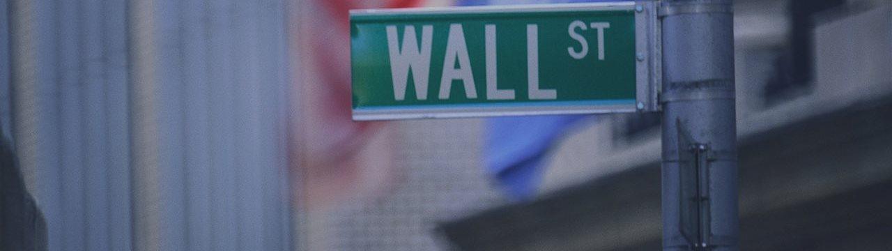 Уолл-стрит в понедельник зазеленела