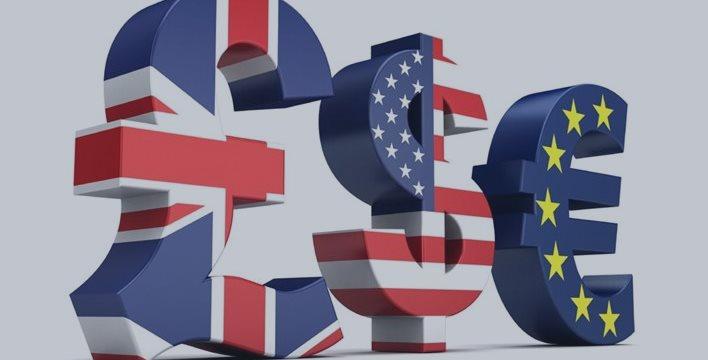 Доллар и фунт выросли, киви и евро снижаются