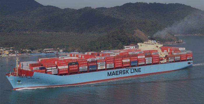 Navio mercante da empresa Maersk é obrigado a desviar para porto iraniano