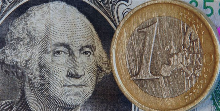 Euro and pound lower vs. dollar after Markit report