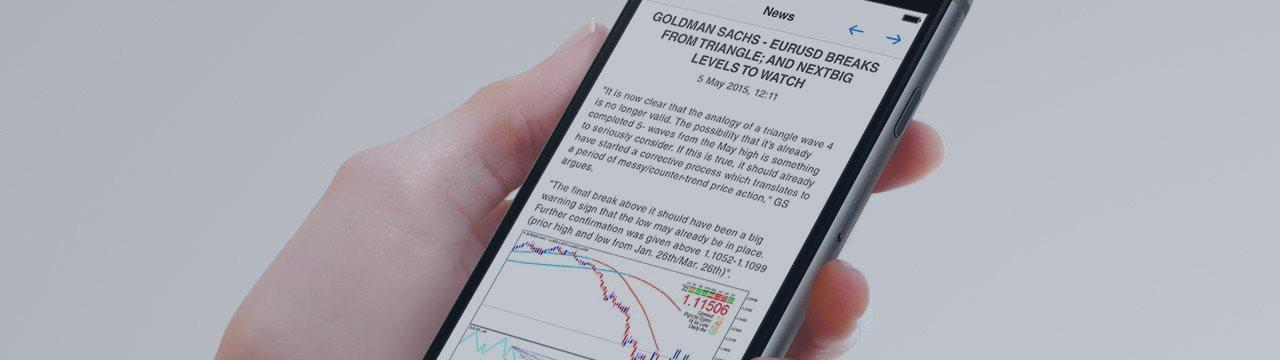 Nova MetaTrader 5 iOS Com Recursos de Um Clique para Abertura de Conta Demo, Melhoria do Chat e Suporte para Arquitetura 64-Bit