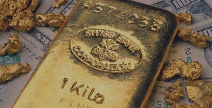 El oro al alza gracias al dólar débil y a mineros africanos