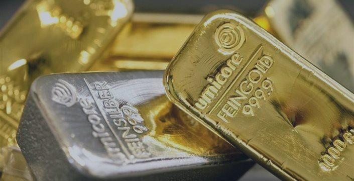 现货黄金白银双双跳水,高位回落迎战美国数据