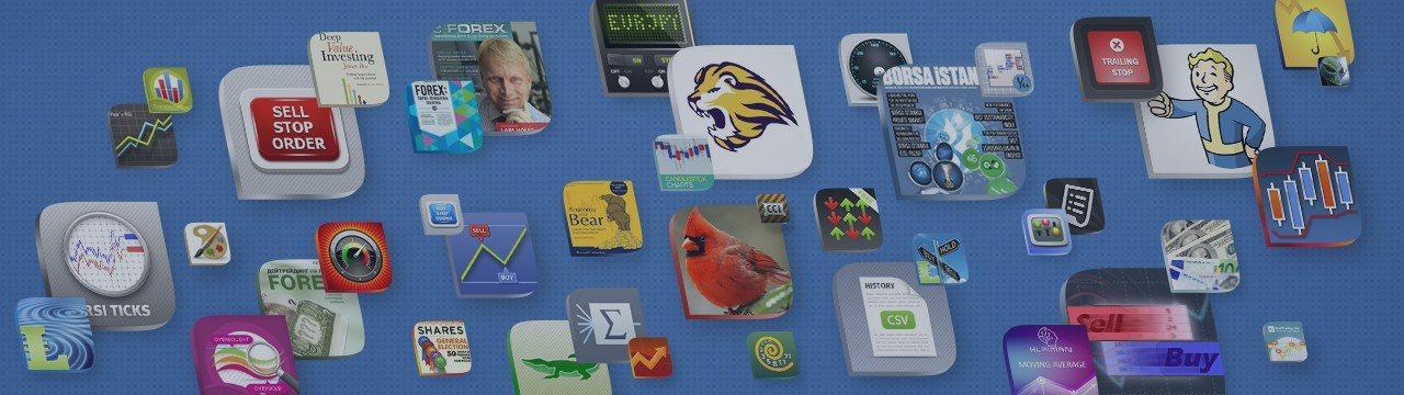 MetaTrader市场中的5,000种交易Apps!