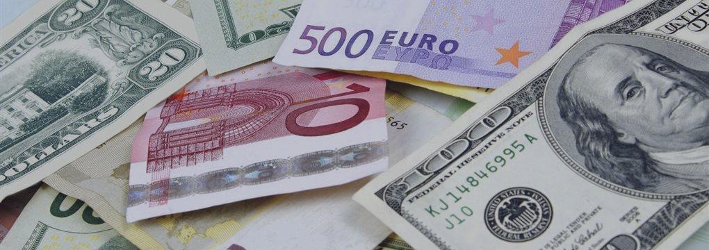 Евро упал к доллару, иена — на восьмилетнем минимуме
