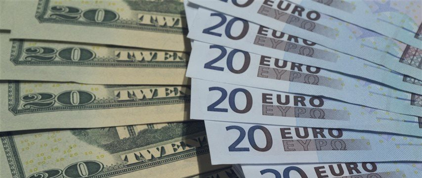 Euro touches one-month trough after avalanche of U.S. data