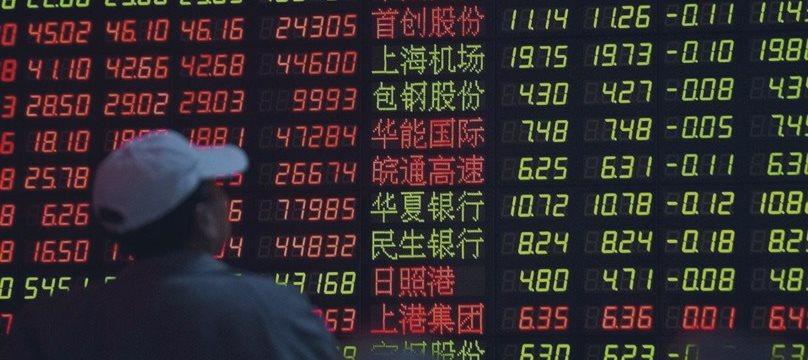 Акции Шанхая попали на территорию коррекции