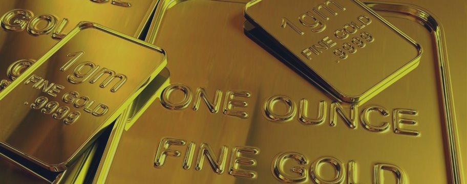 Золото слабо растет