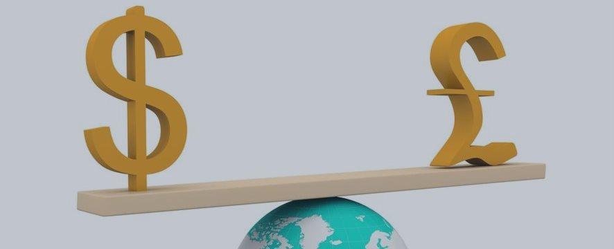Dólar valoriza frente ao euro e libra