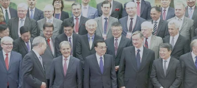 A Summit Meeting Of The Eu-China Investment