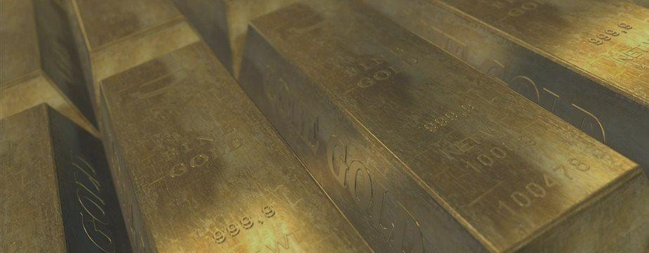 Золото упало до пятнадцатинедельного минимума