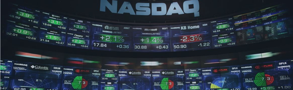 Положительная динамика наблюдалась вчера на американских фондовых рынках