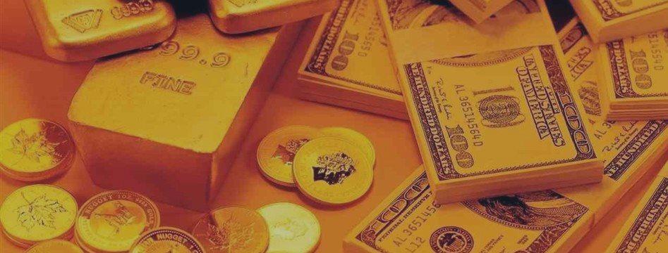 Золото продолжает падать после заявлений о ставках ФРС в этом году