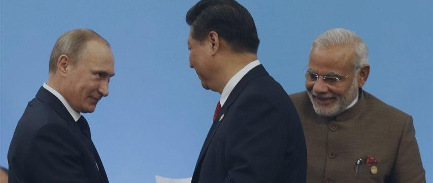 ¿Qué es la alianza informal RIC de Rusia, India y China?