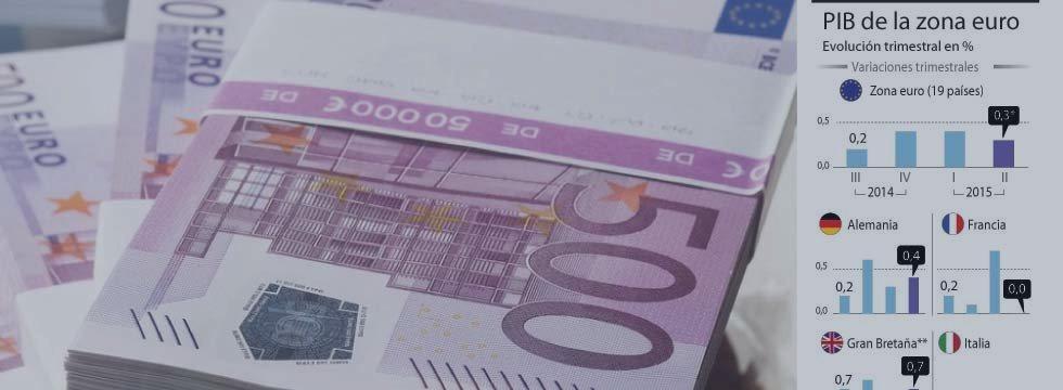 Desacelera crecimiento de Eurozona