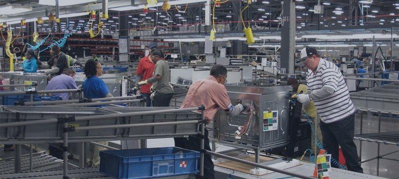 Producción industrial de EU, a su mayor ritmo en 8 meses