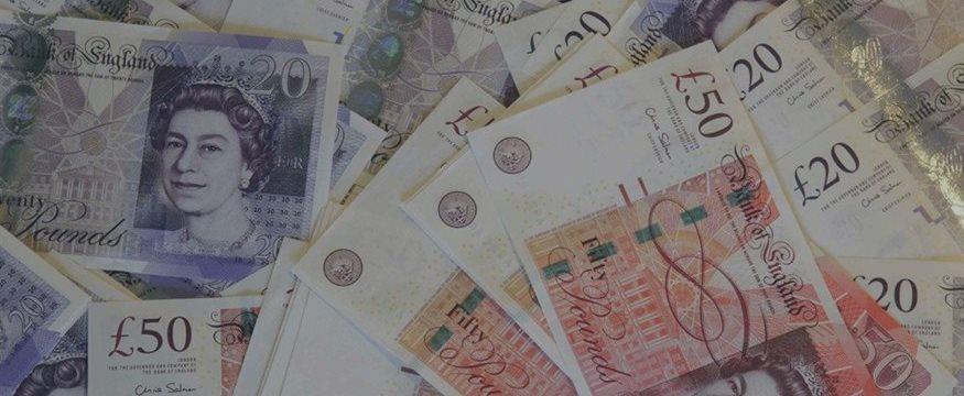 Фунт стерлингов на шестинедельном максимуме против доллара