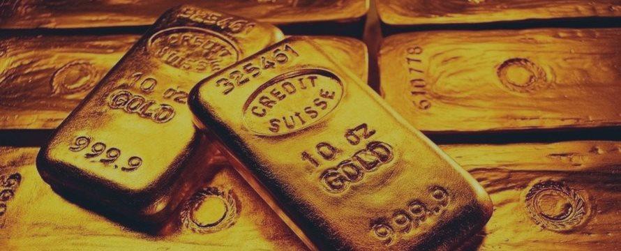 全球股市下挫 现货黄金周四大幅收涨