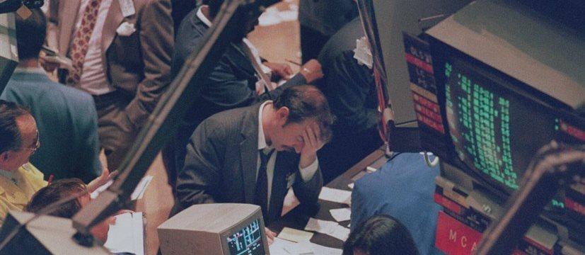 Эти парни сделали деньги на падении Dow Jones на 1000 пунктов в понедельник