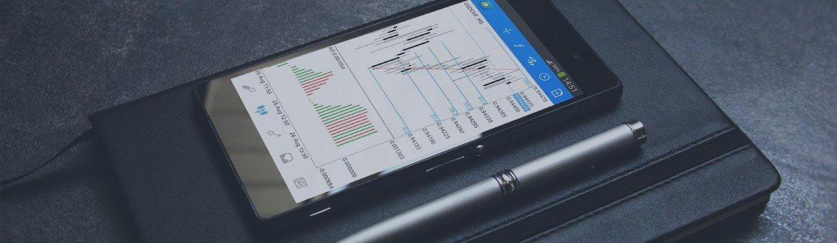Novo MetaTrader 5 para Android: 24 Objetos de Análise e Dois Fatores de Autenticação OTP
