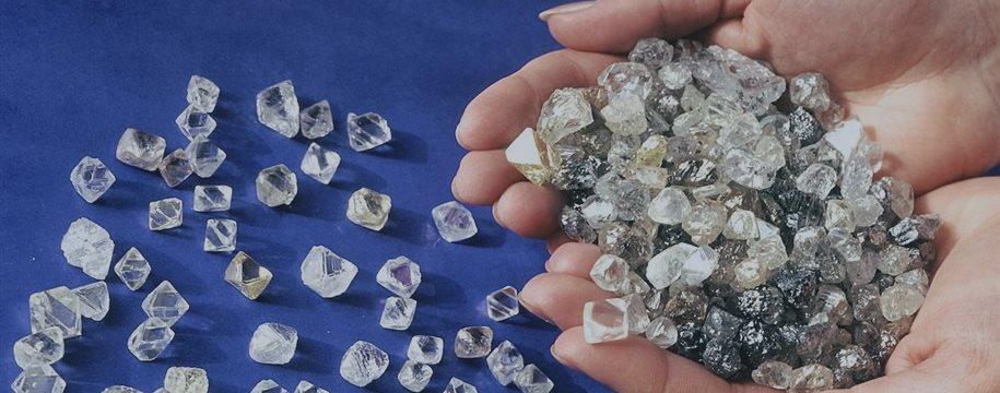 По стоимости добытых алмазов Россия занимает первое место