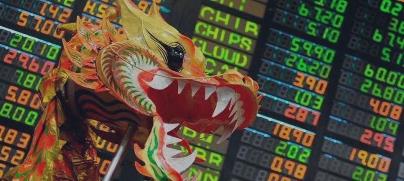 Фондовая Азия закрылась в красной зоне после выхода китайских отчетов