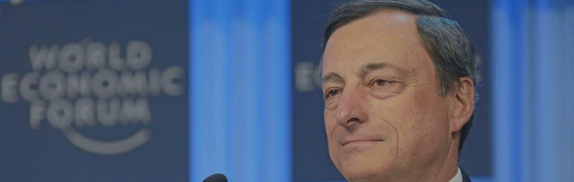 Евро резко упал на заявлениях Драги